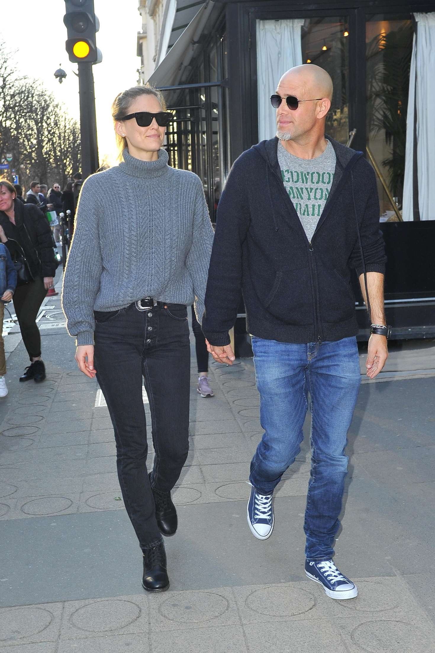Bar Refaeli - Out and about in Paris
