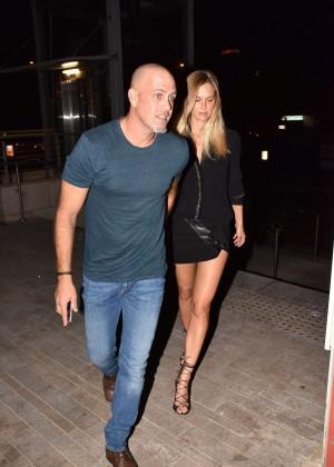 Bar Refaeli out in Tel Aviv