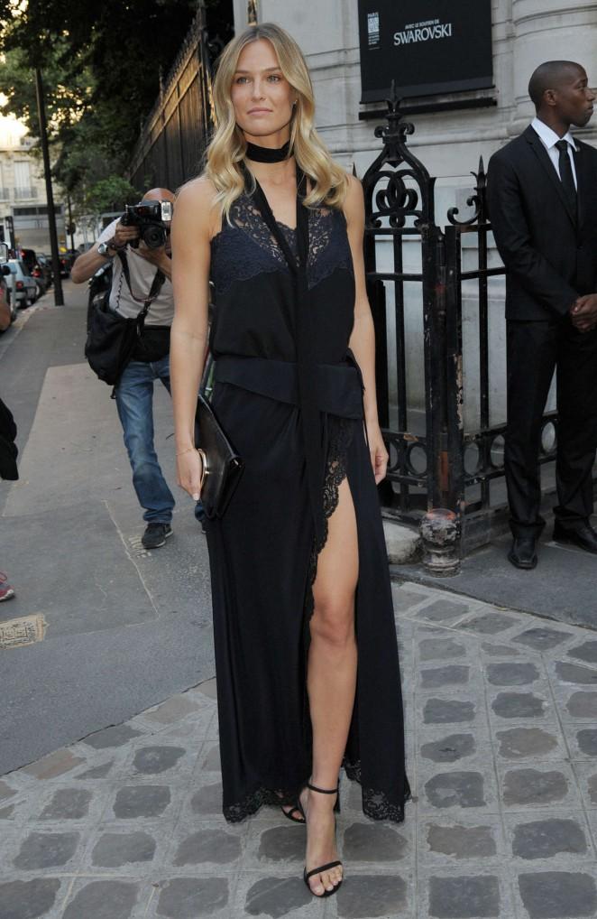 Bar Refaeli - Vogue Party During Paris Fashion Week Haute Couture In Paris