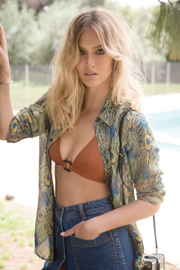 Bar Refaeli - Yaniv Edry Photoshoot For Laisha (May 2015)