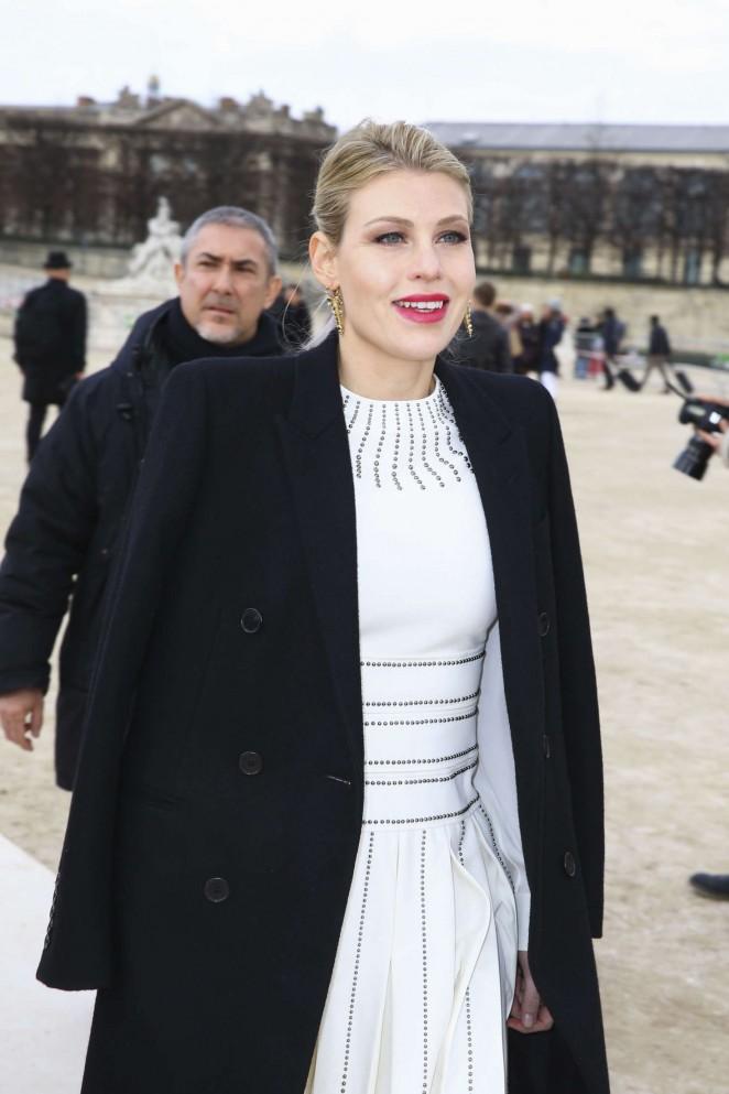 Barbara Berlusconi - Valentino Fashion Show 2016 in Paris