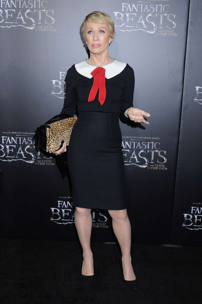 Barbara Corcoran -'Fantastic Beasts and Where to Find Them' Premiere in NYC