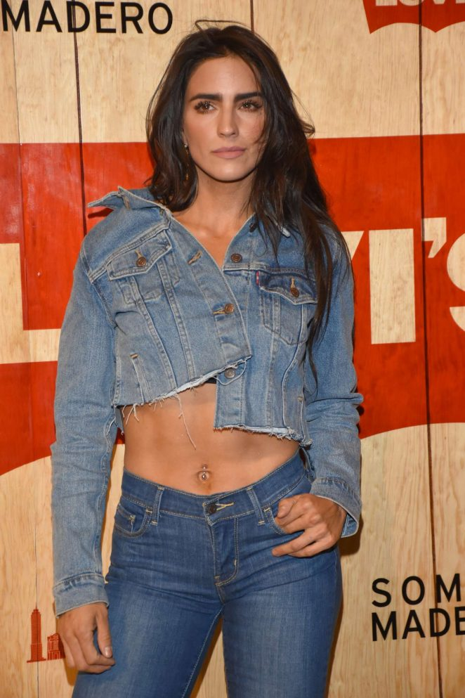 Barbara de Regil - Levi's Store Opening in Mexico City