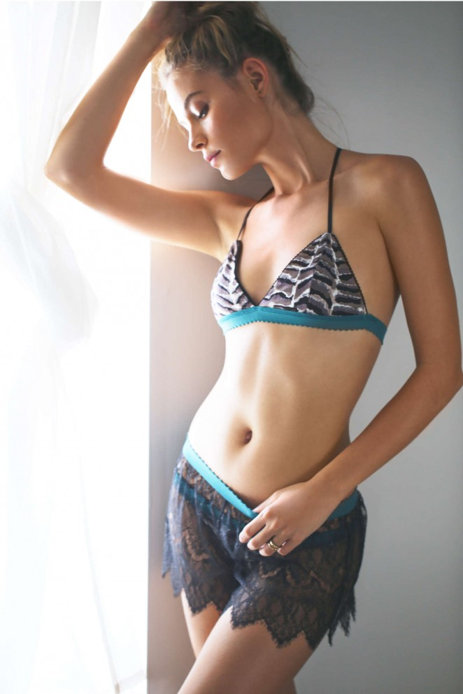 Barbara Di Creddo - Free People Lingerie (Summer 2015)