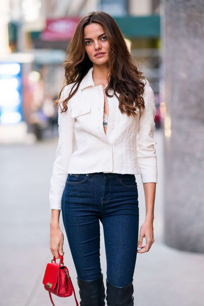 Barbara Fialho - Victoria's Secret Fashion Show Fittings in NY