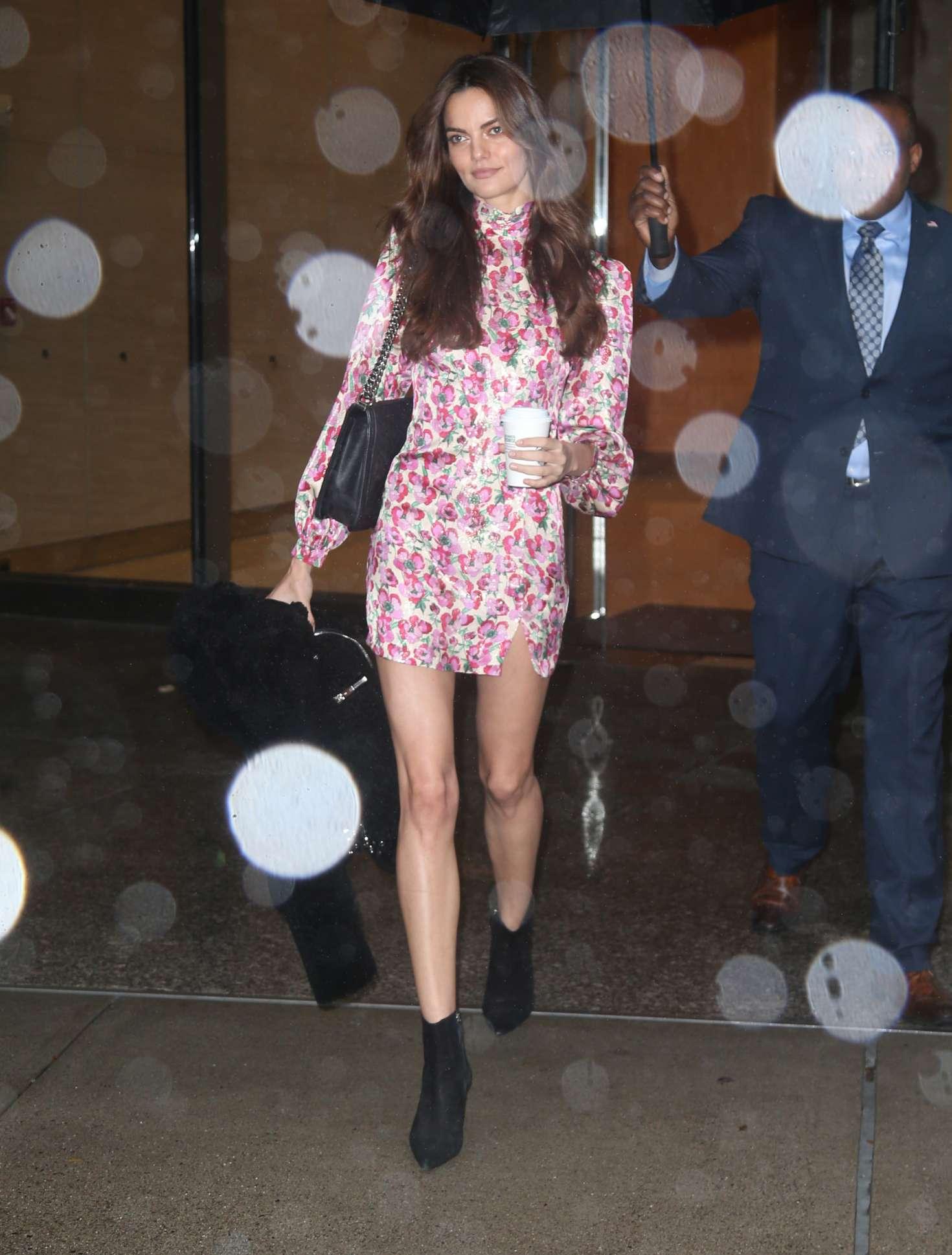 Barbara Fialho 2018 : Barbara Fialho: Victorias Secret Fittings in New York -04