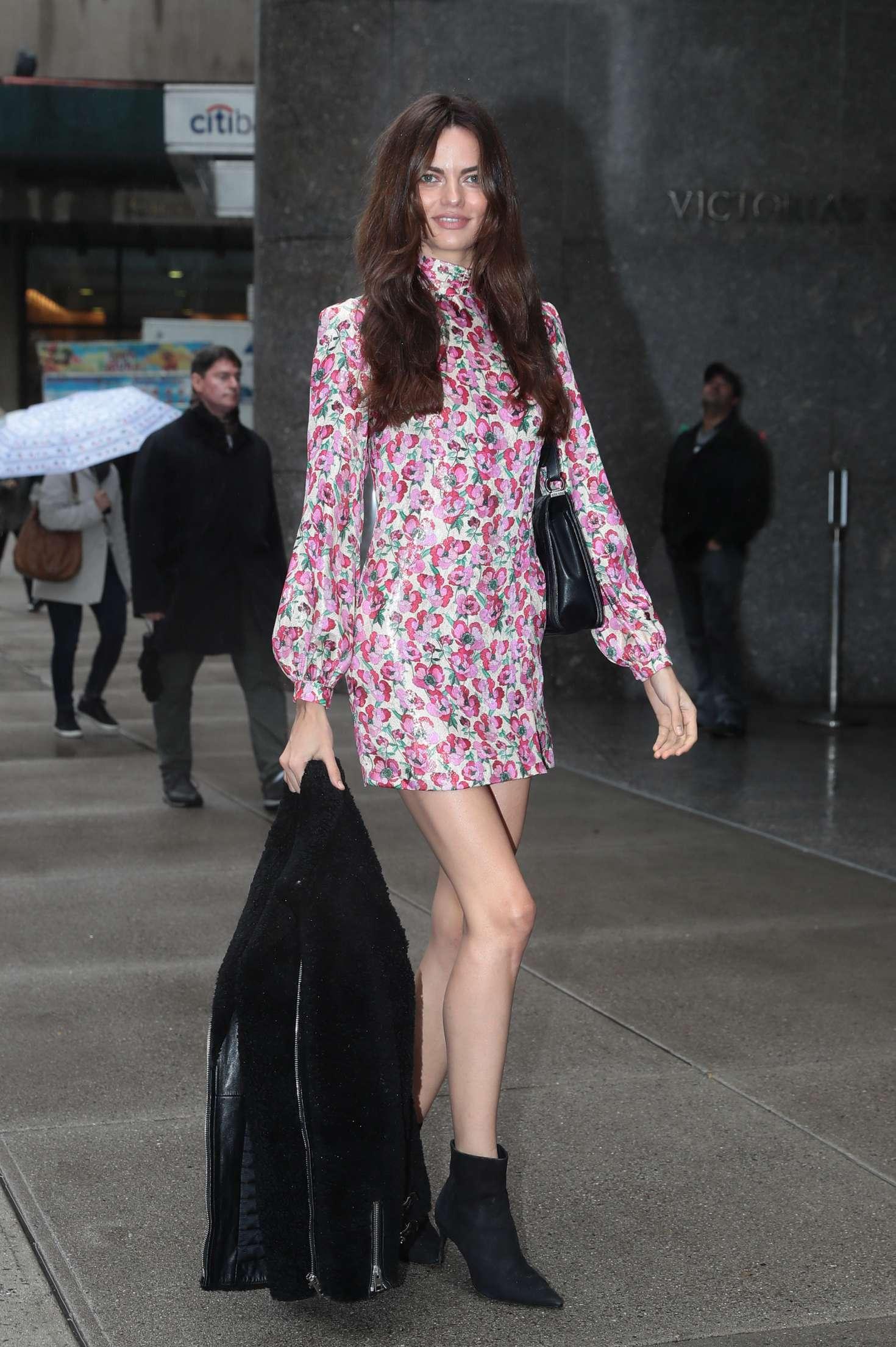 Barbara Fialho 2018 : Barbara Fialho: Victorias Secret Fittings in New York -08