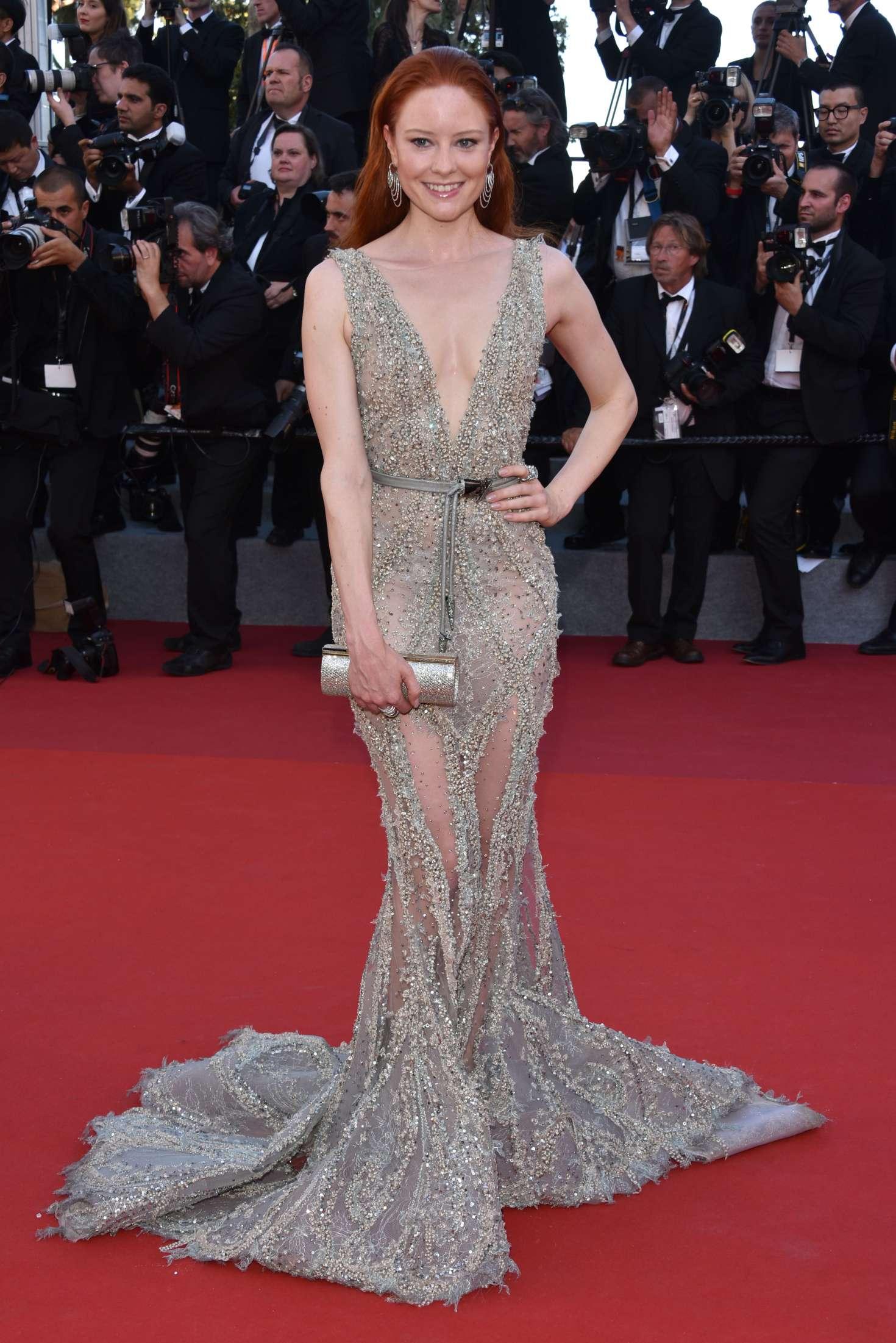 Barbara Meier 2017 : Barbara Meier: Ismaels Ghosts Screening at 70th Annual Cannes Film Festival -02