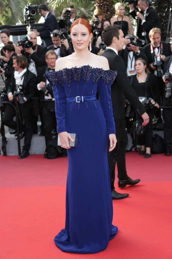 Barbara Meier - 'The Meyerowitz Stories' Premiere at 70th Cannes Film Festival