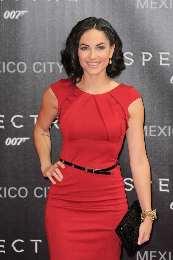 Barbara Mori - 'Spectre' Premiere in Mexico City