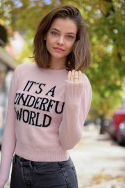 Barbara Palvin - Alberta Ferretti Love Me Capsule Collection Fall 2019
