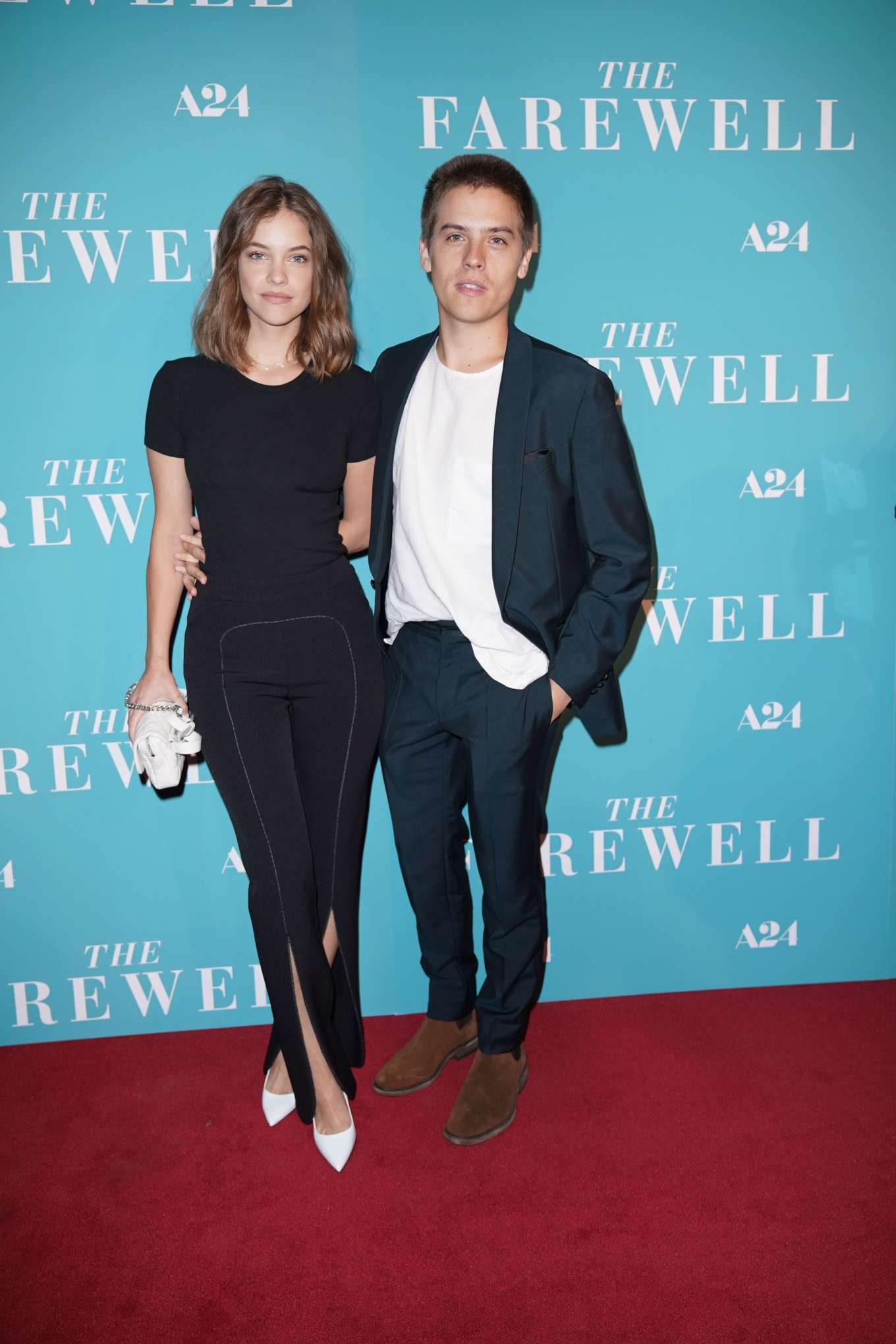 Barbara Palvin 2019 : Barbara Palvin and Dylan Sprouse – The Farewell Special Screening-04