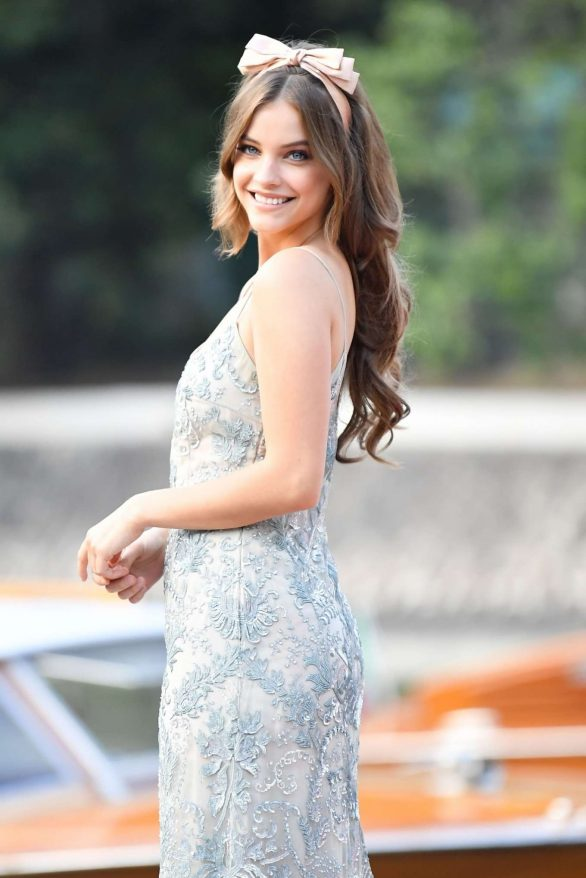 Barbara Palvin - Arriving at the 76th Venice Film Festival
