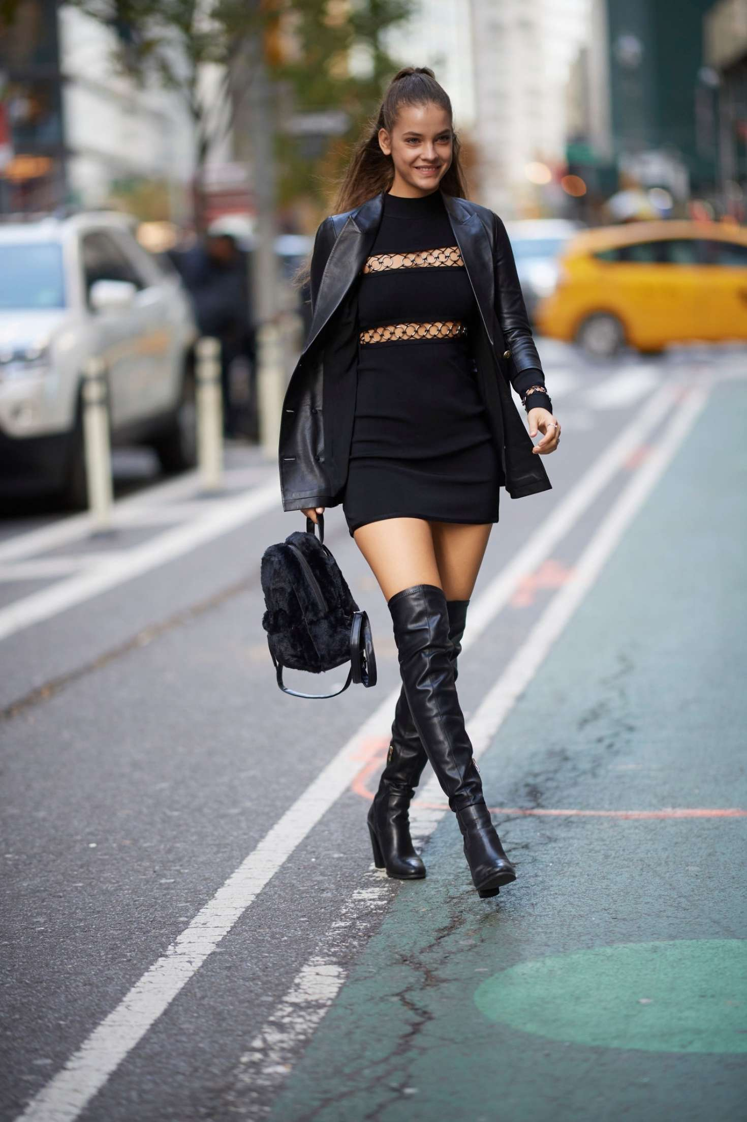Barbara Palvin - Arriving at the Victoria's Secret offices in New York