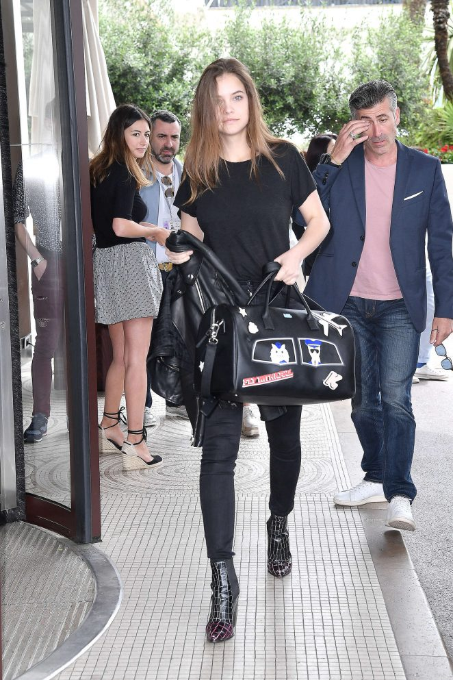 Barbara Palvin at Hotel Martinez in Cannes -03
