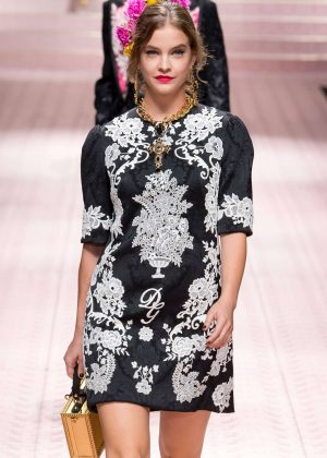 Barbara Palvin - Dolce & Gabbana Runway Show in Milan