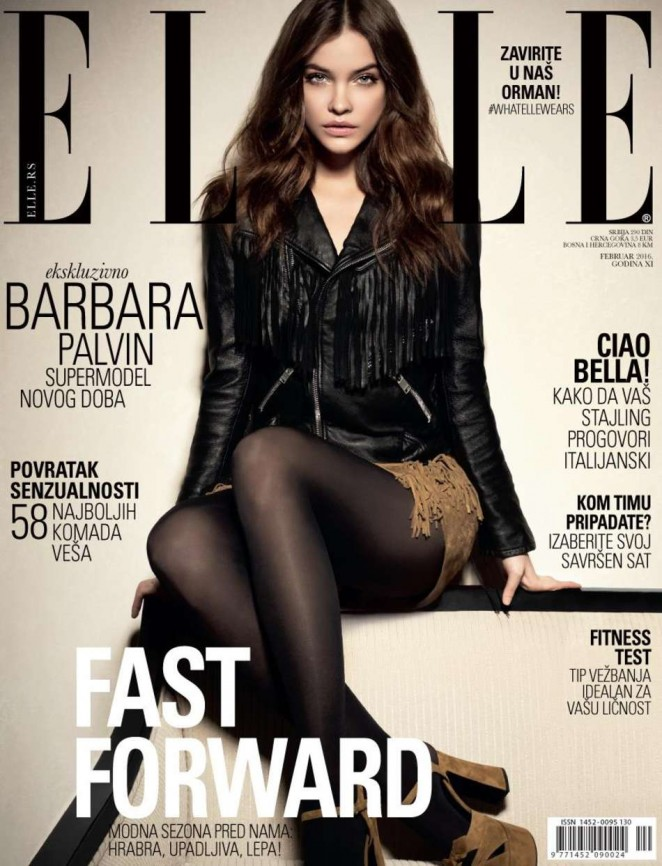 Barbara Palvin - Elle Serbia Cover (Frebruary 2016)