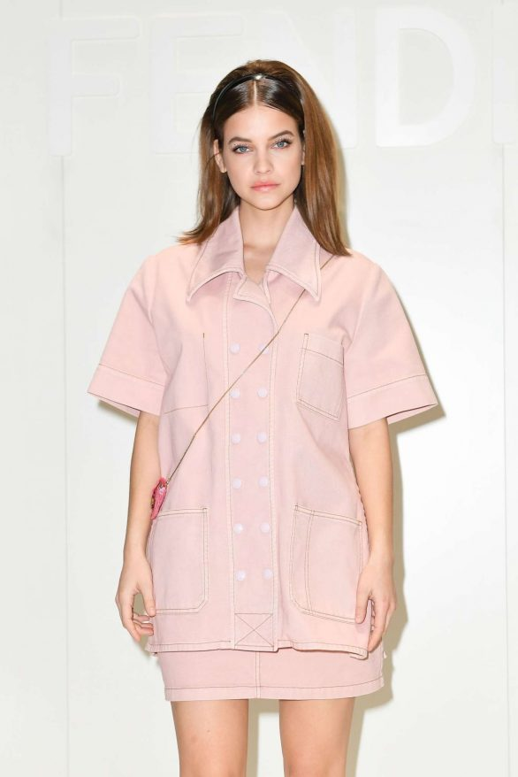 Barbara Palvin - Fendi FW 2020 Fashion Show in Milan