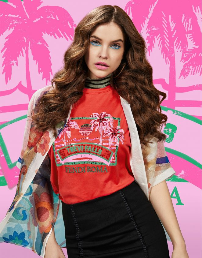 Barbara Palvin - Fendi Pop Tour Spring 2018 Campaign