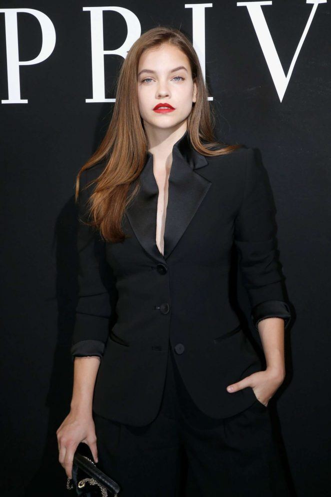 Barbara Palvin - Giorgio Armani Fashion Show 2017 in Paris
