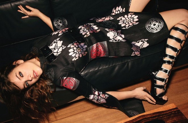 Barbara Palvin: Glamour Germany 2015 -04