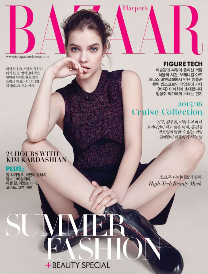 Barbara Palvin - Harper's Bazaar Korea Cover Magazine (June 2015)