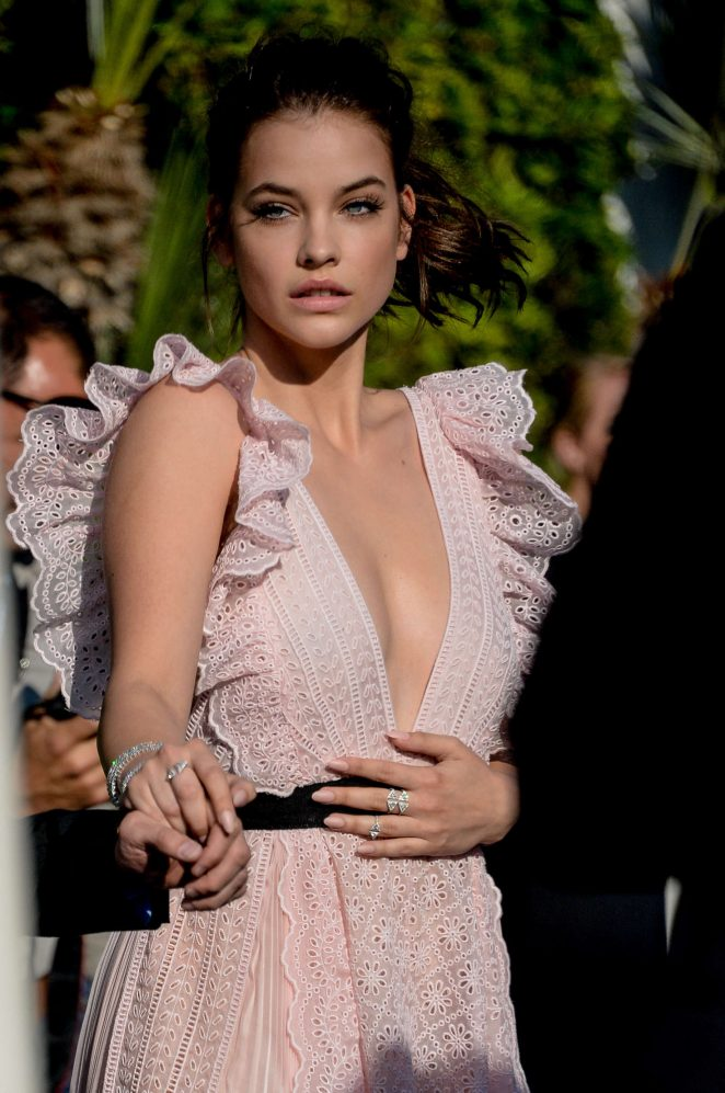 Barbara Palvin - Leaving the Hotel Martinez in Cannes