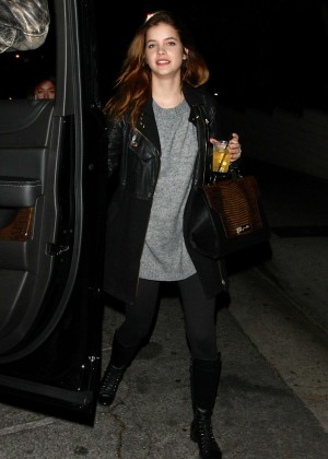 Barbara Palvin - Leaving the Sunset Marquis in West Hollywood
