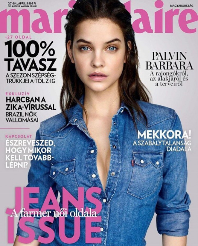 Barbara Palvin - Marie Claire Hungary Magazine (April 2016)