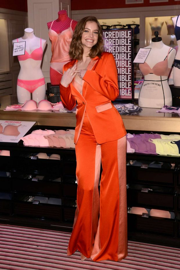 Barbara Palvin: New Incredible By Victorias Secret Collection launch in NYC -08
