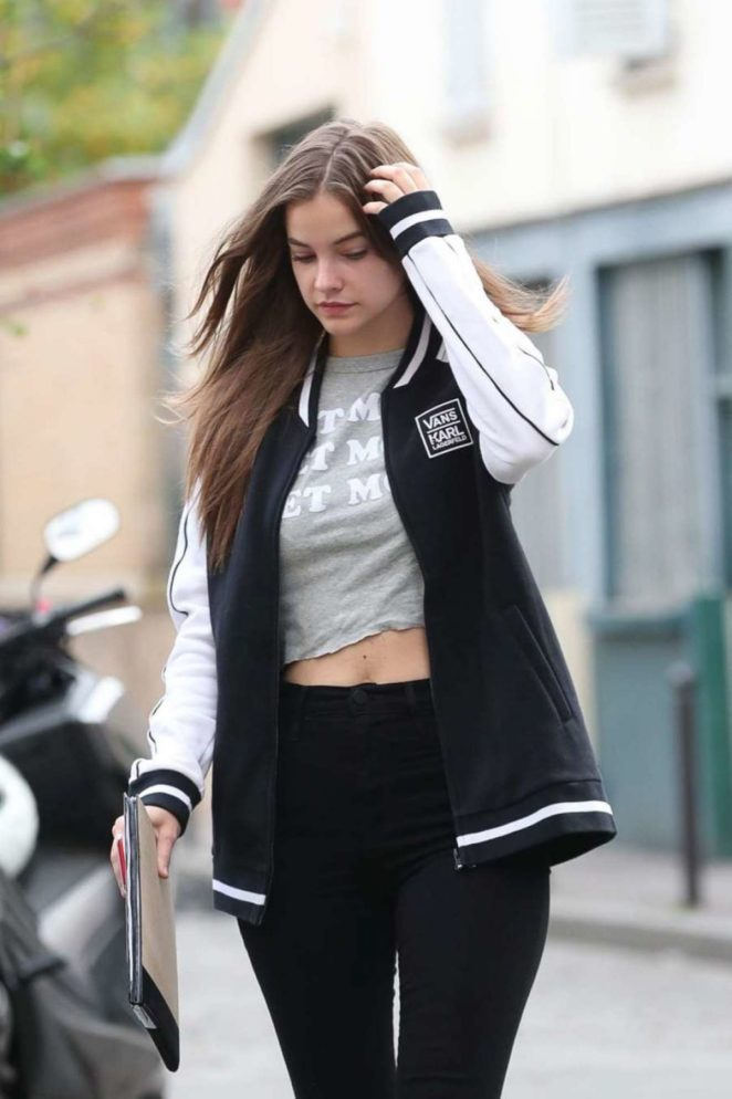 Barbara Palvin - Out in Paris in France