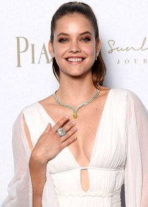 Barbara Palvin - Piaget Sunlight Journey Collection Launch in Rome