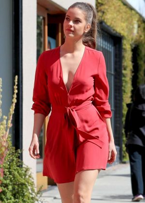 Barbara Palvin - Promoting Armani Cosmetics in West Hollywood