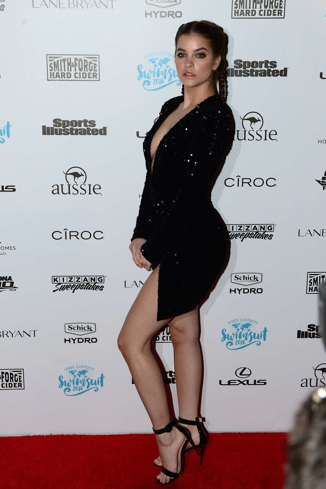 Barbara palvin sports illustrated swimsuit 2016 red carpet 02 gotceleb - Barbara palvin red carpet ...