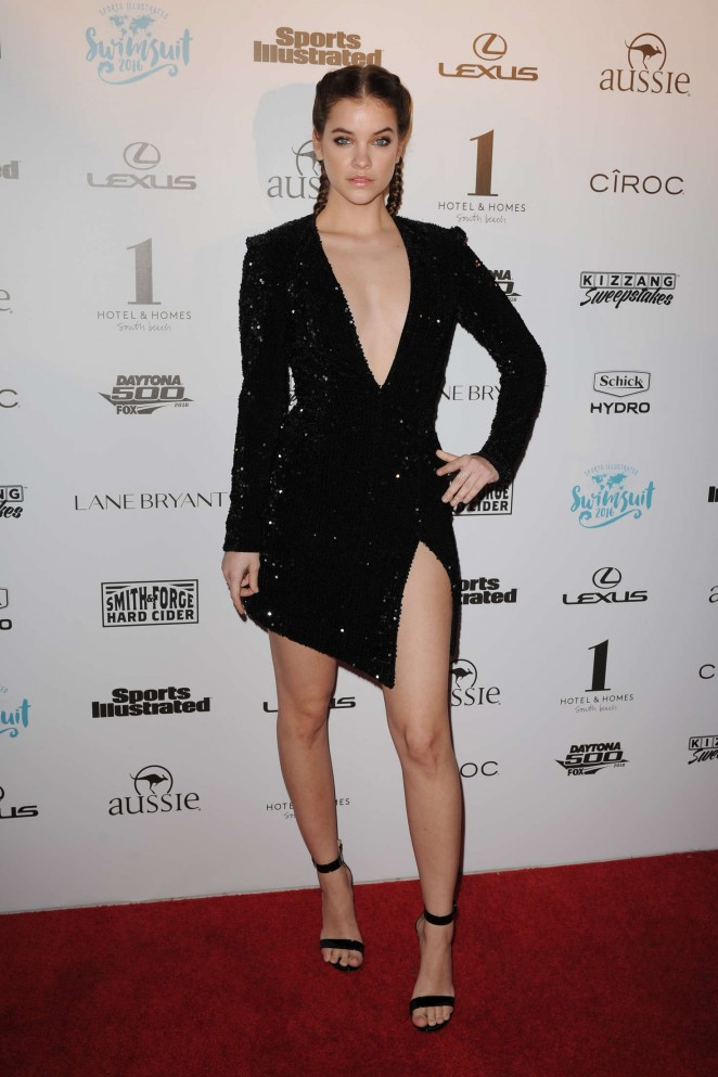 Barbara palvin sports illustrated swimsuit 2016 red carpet 05 gotceleb - Barbara palvin red carpet ...