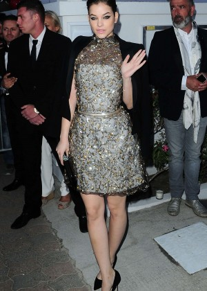 Barbara Palvin - Vanity Fair and Chanel dinner in Golfe-Juan