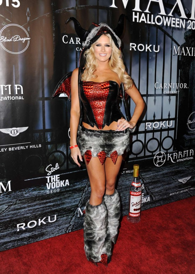 Barbie Blank - MAXIM Magazine's Official Halloween Party in Beverly Hills