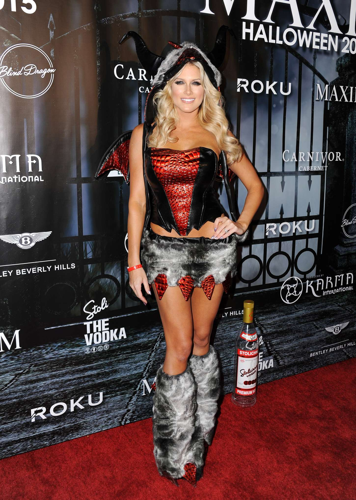 Barbie Blank - MAXIM Magazine's Official Halloween Party in ...