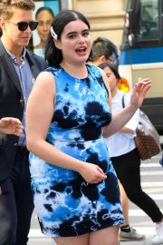 Barbie Ferreira - Arriving at Build Studio in New York