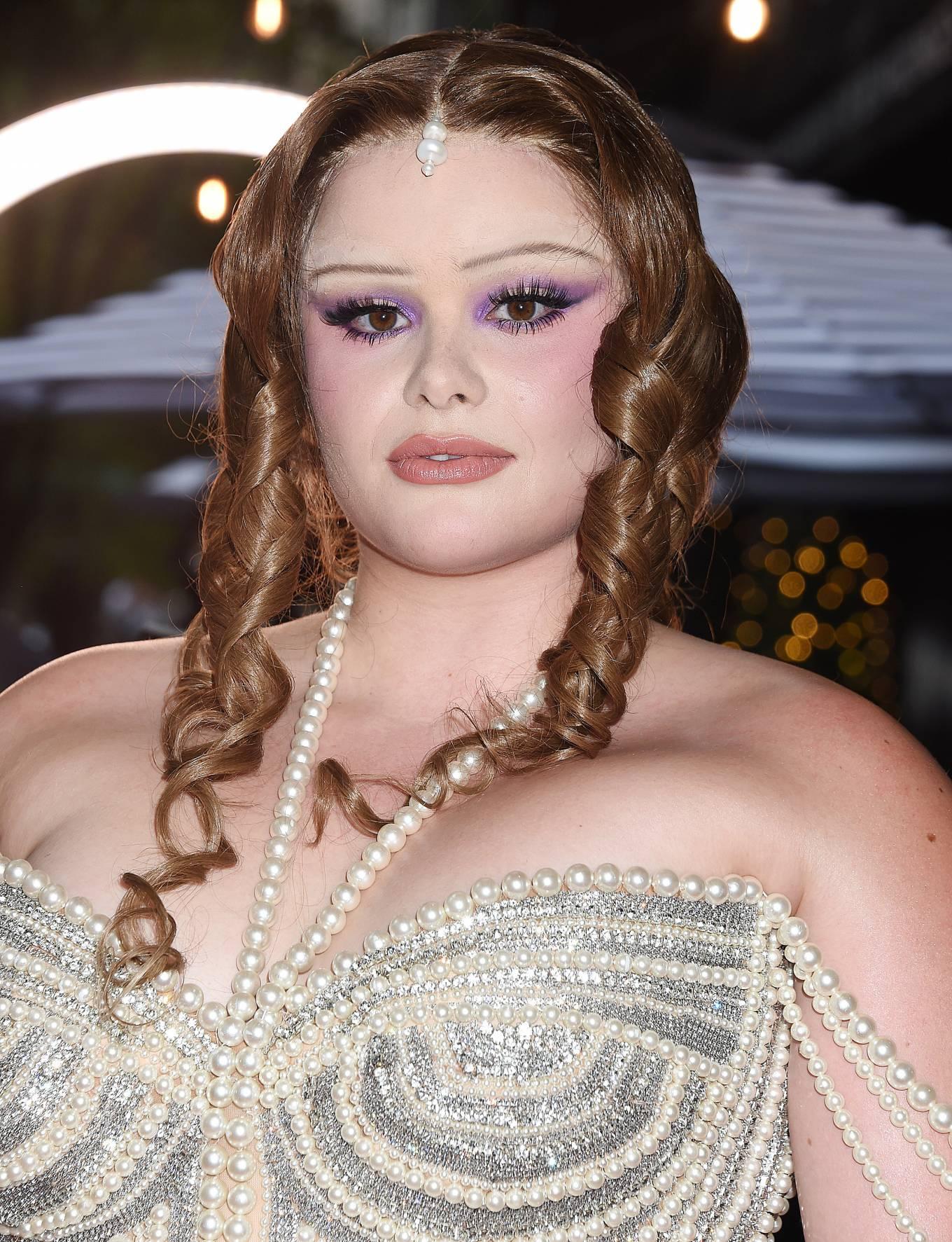 Barbie Ferreira 2021 : Barbie Ferreira – Seen departing The Mark Hotel in New York City for the 2021 Met Gala-05