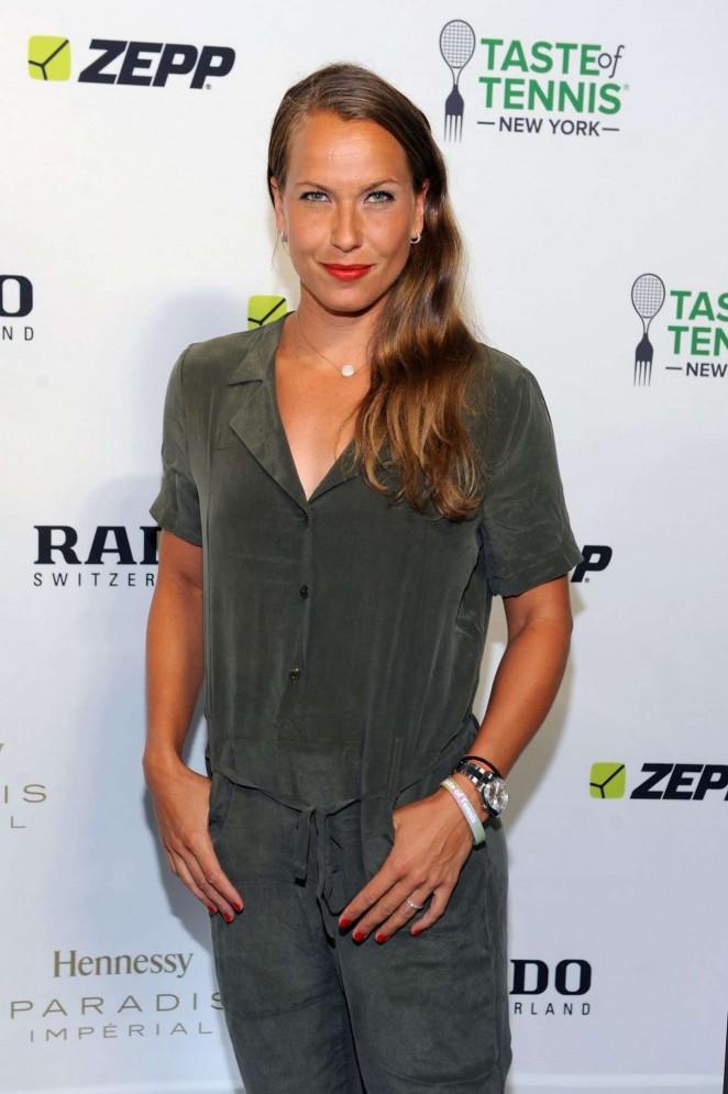 Barbora Strycova - Taste of Tennis Gala in NYC