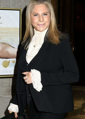 Barbra Streisand out in New York