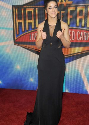 Bayley - WWE's 2018 Hall Of Fame Induction Ceremony in New Orleans