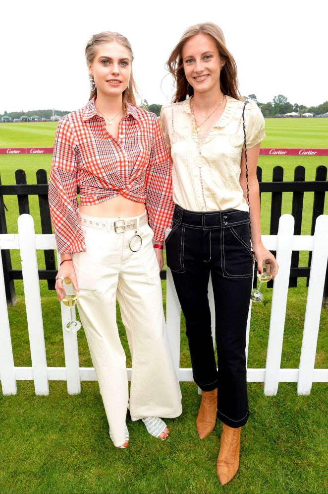 Bea Fresson - Cartier Queens Cup Polo in Windsor