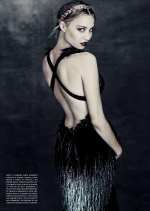 Beatrice Borromeo - Vogue Italy Magazine (September 2015)