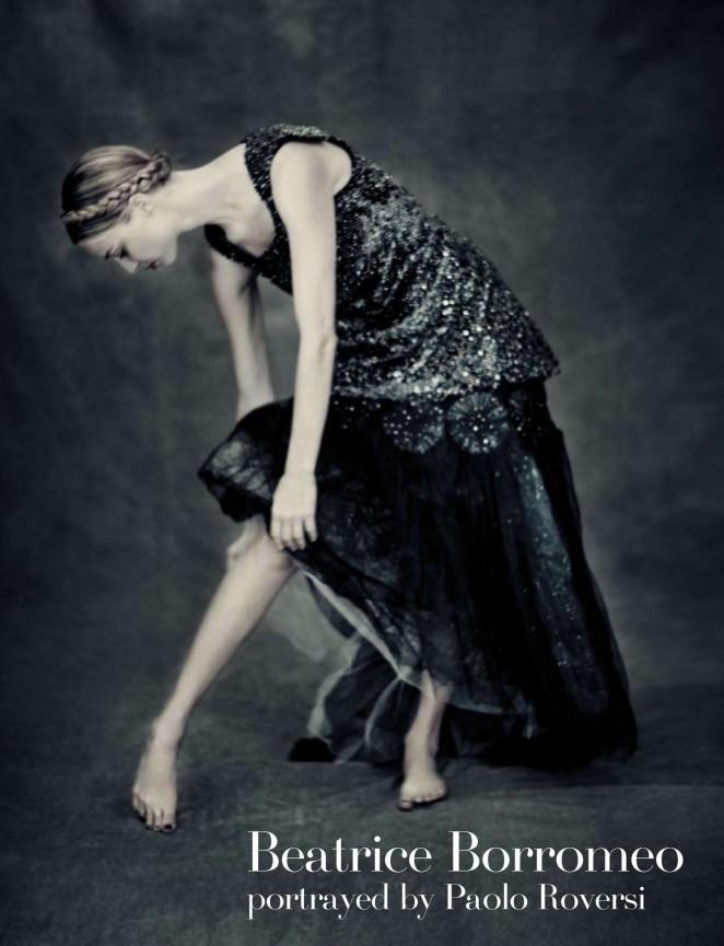 Beatrice Borromeo: Vogue Italy 2015 -05