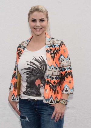 Beatrice Egli - TV Show in Europepark in Rust Hilary Duff Cast