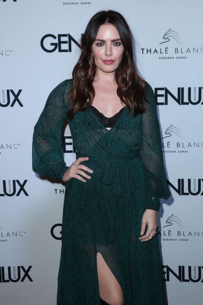 Beau Dunn - Genlux Holiday Issue Magazine Party in West Hollywood