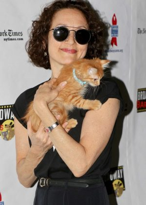 Bebe Neuwirth - 19th Annual Broadway Barks Animal Adoption Event in NY