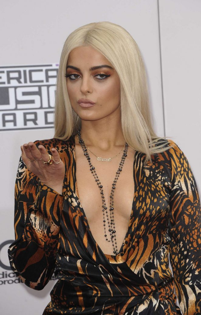 Bebe Rexha - 2016 American Music Awards in Los Angeles